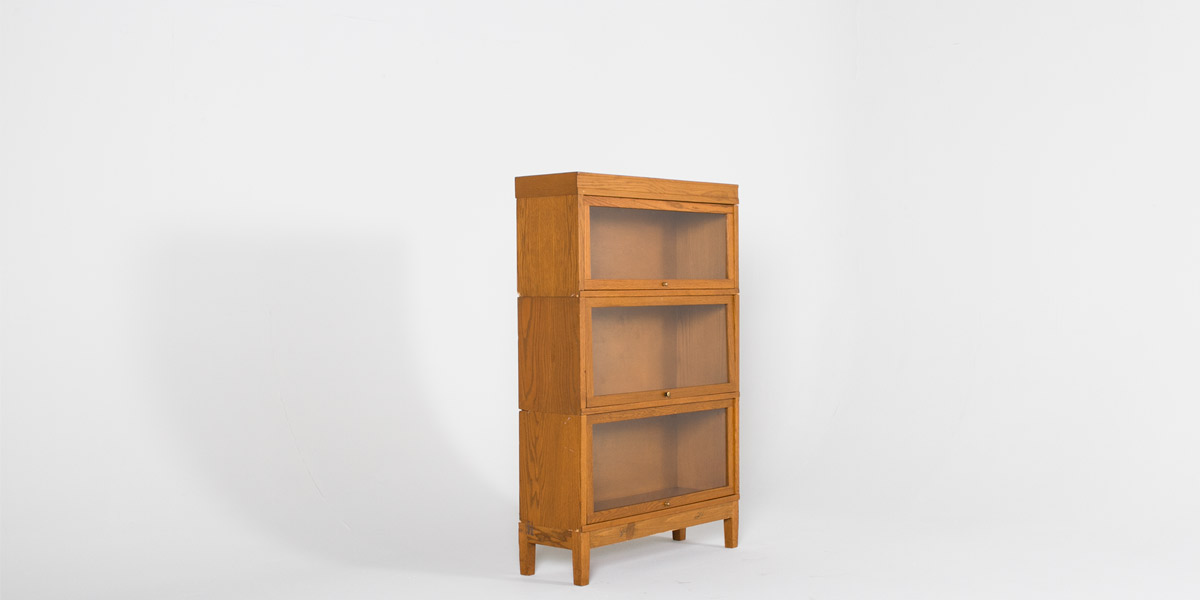"34.5""w x 53.5""h Light Oak Bookcase BKC000271"
