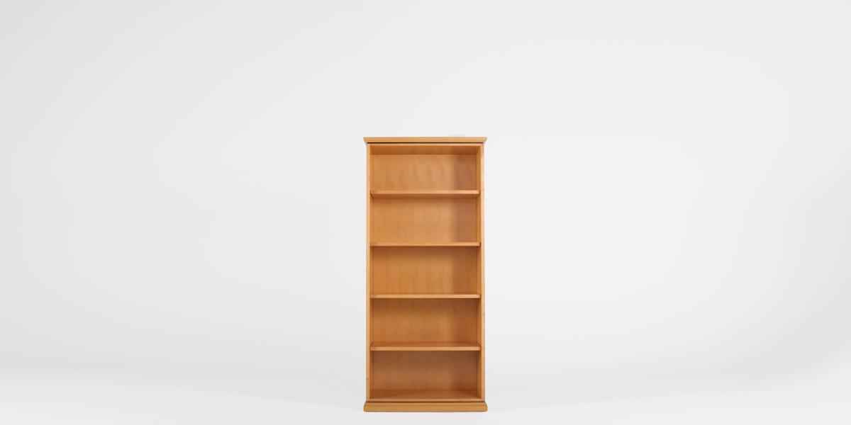 """36""""w x 79""""h Maple Bookcase BKC008562"""