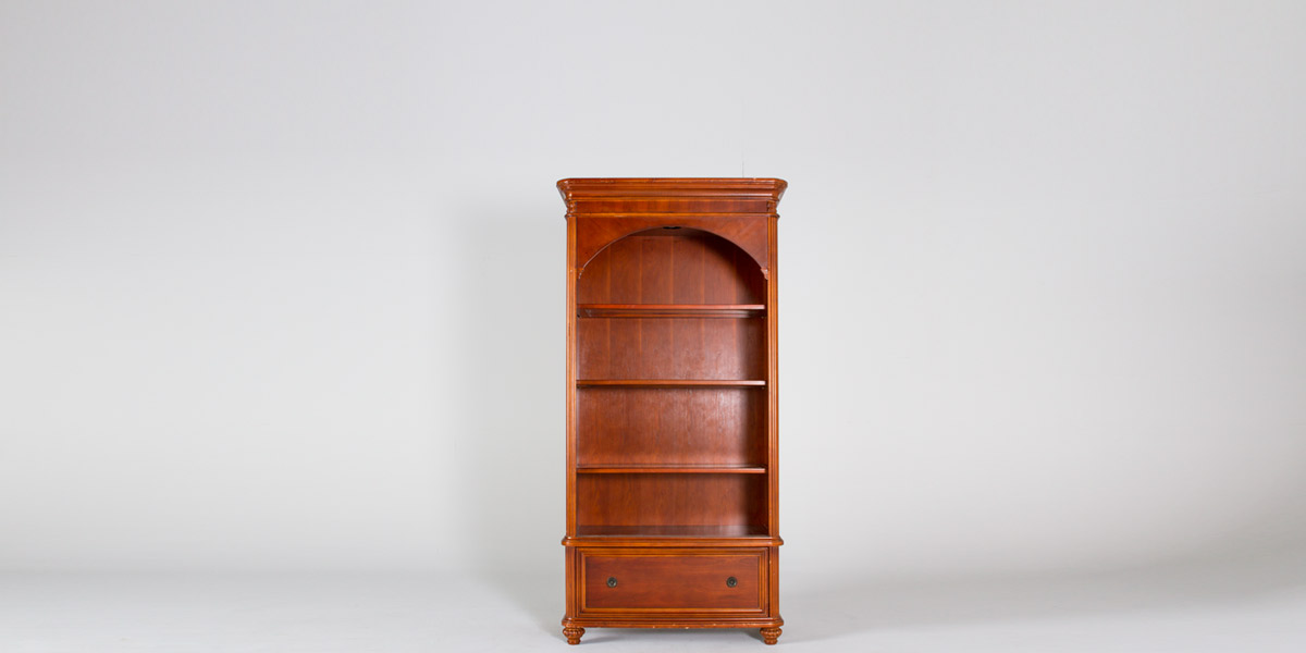 "36""w x 78""h West Indies Cherry Bookcase BKC008826"