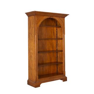"""39""""w x 76""""h Antique Pine Bookcase BKC009286"""