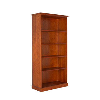 "36""w x 72""h Golden Cherry Bookcase BKC009400"