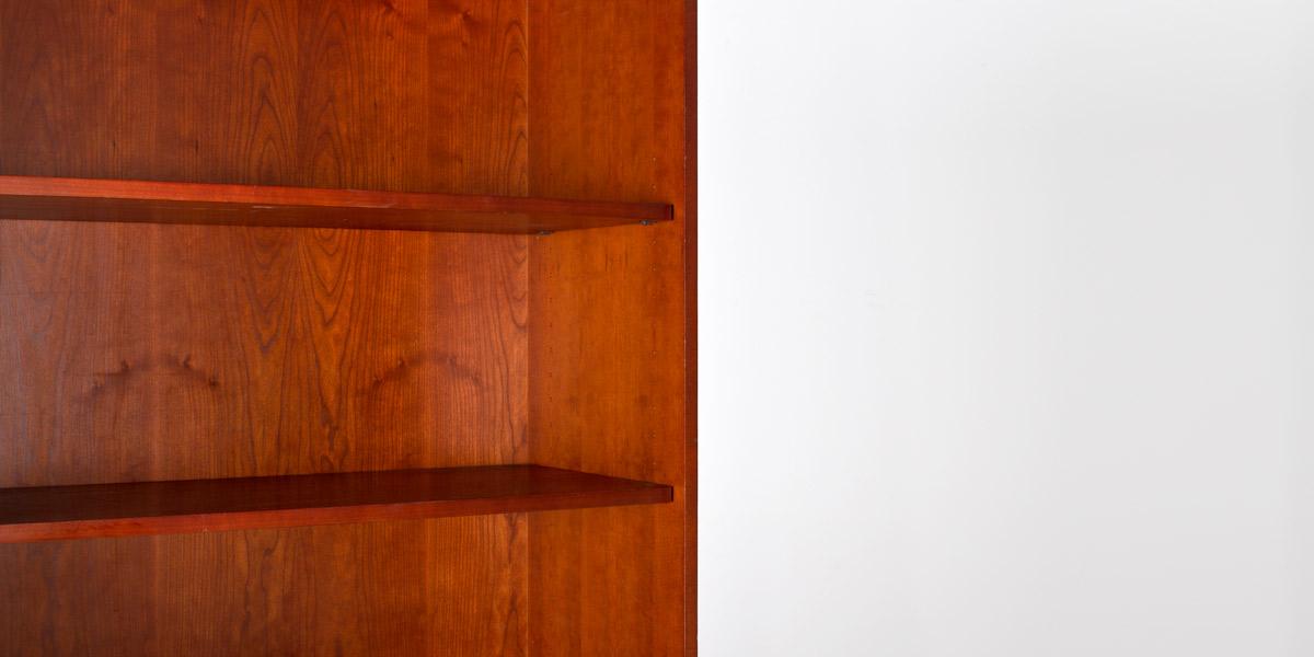"""36""""w x 72""""h Golden Cherry Bookcase BKC009400"""