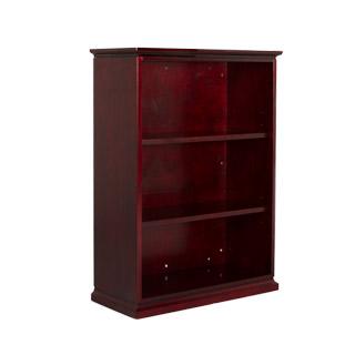 """36""""w x 49""""h Mahogany Bookcase BKC010111"""