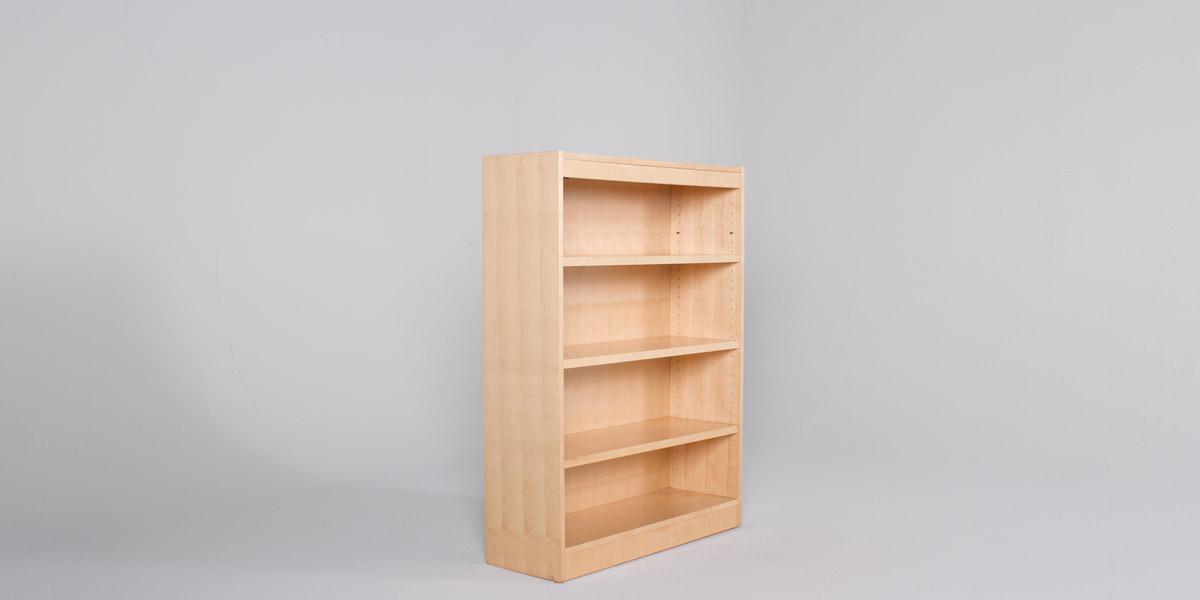 """36""""w x 48""""h Maple Bookcase BKC010442"""