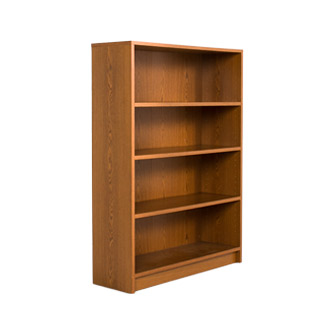 "36""w x 48""h Medium Oak Bookcase BKC011404"