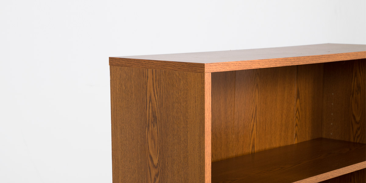 "36""w x 48""h Medium Oak Bookcase BKC011404"