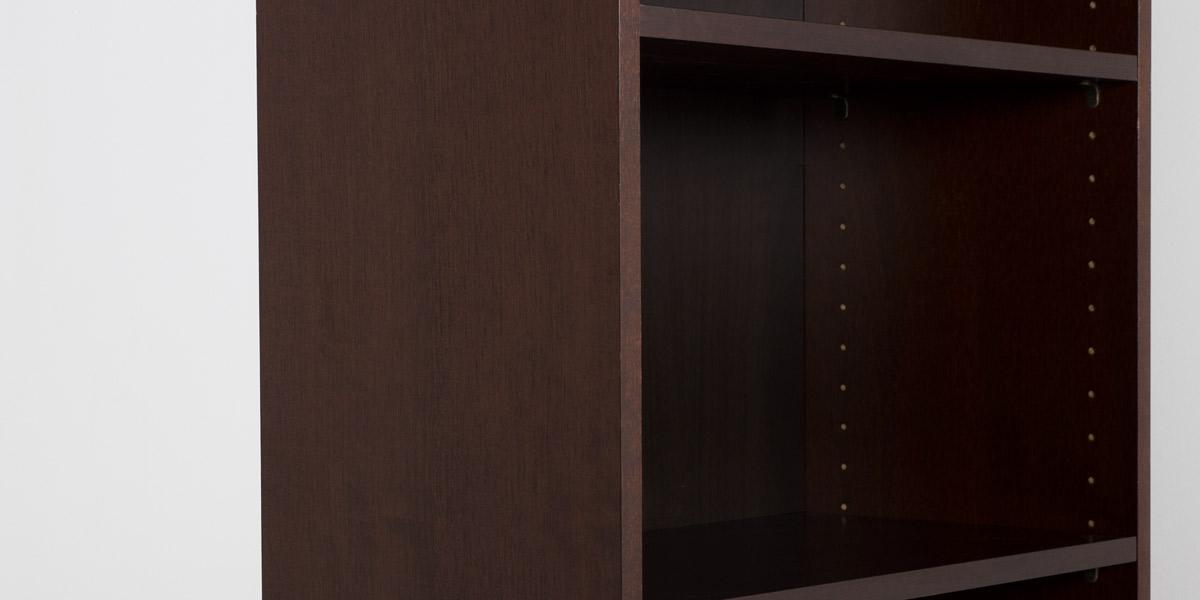 "24""w x 72""h Walnut Veneer Bookcase BKC012100"