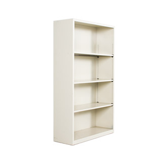 "34.5"" x 59"" Metal Bookcase by Hon BOOK103"