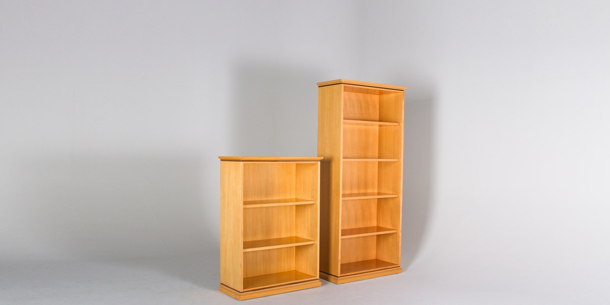 "36""w x 49""h Maple Bookcase BKC012720"