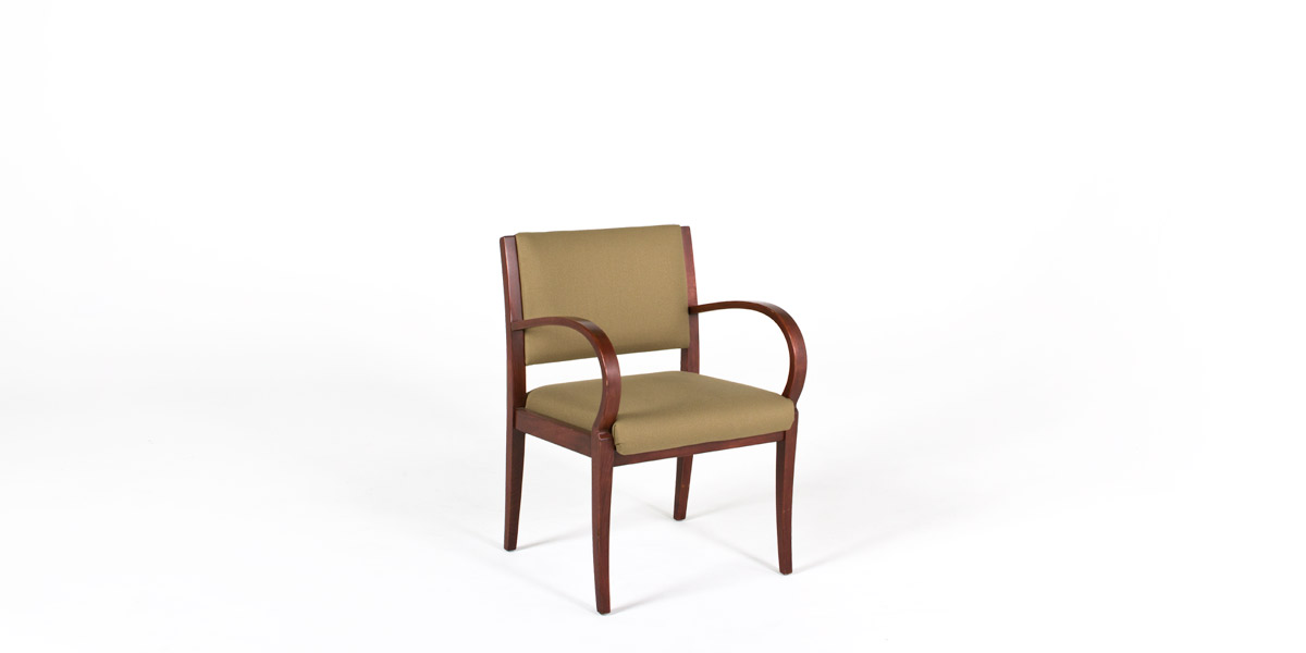 Taupe Fabric Guest Chair CHR008977