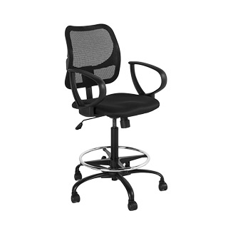 Black Drafting Chair CHR013152