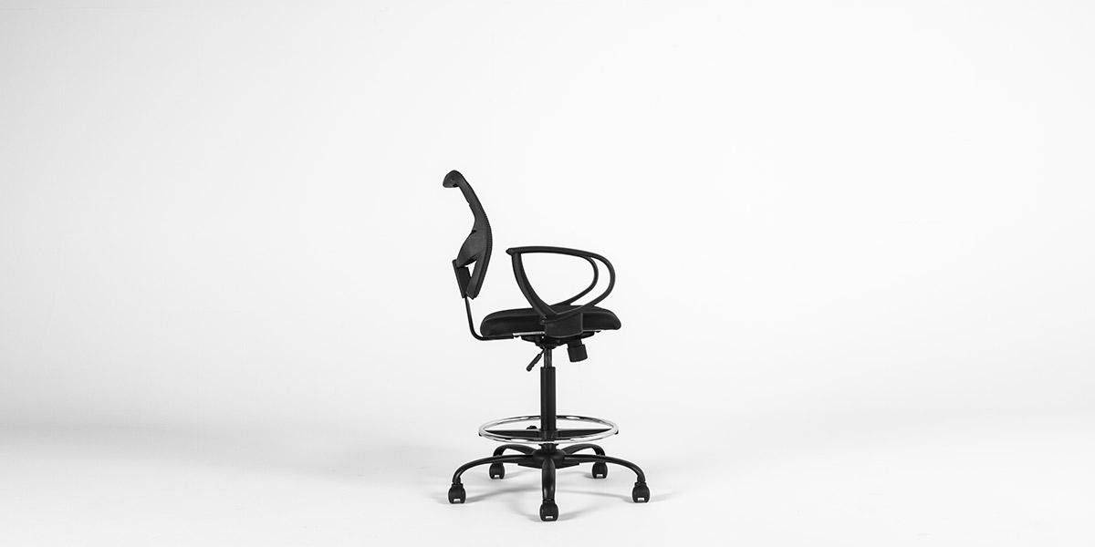 Black Drafting Chair CHR013152