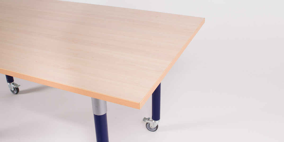 "63""w x 31.5""d Maple Table Desk DSK009794"
