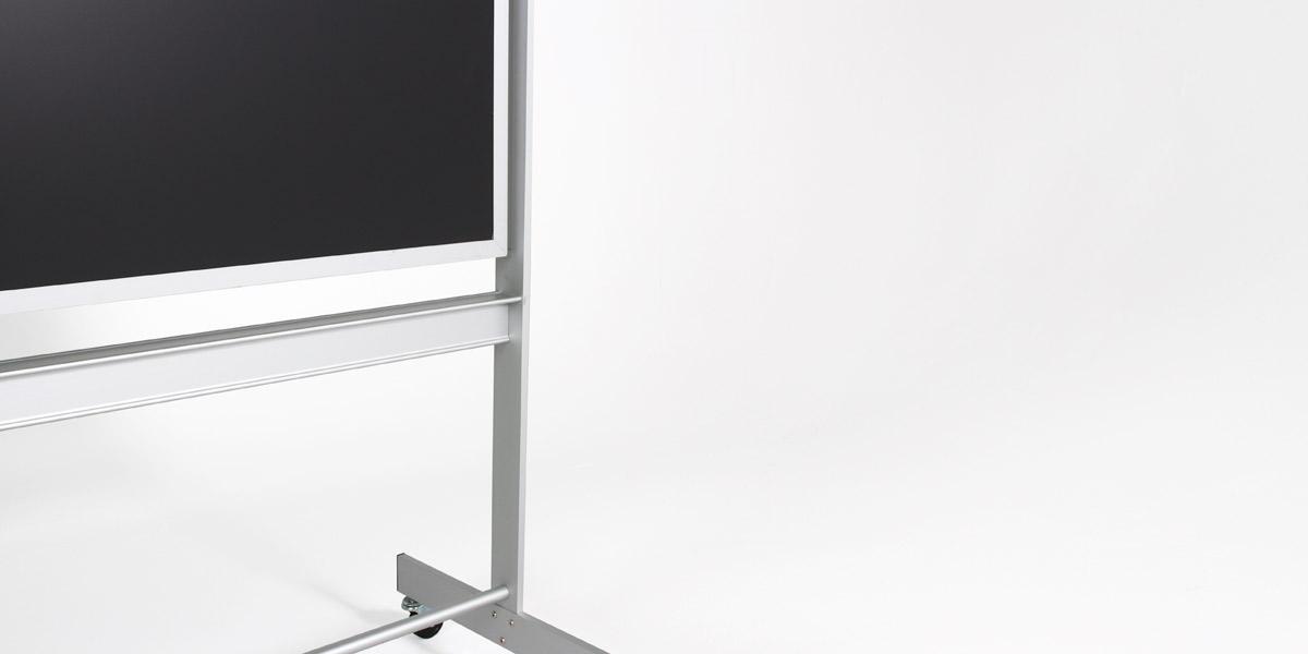 """74""""w x 79.5""""h Aluminum Blackboard MIS013083"""