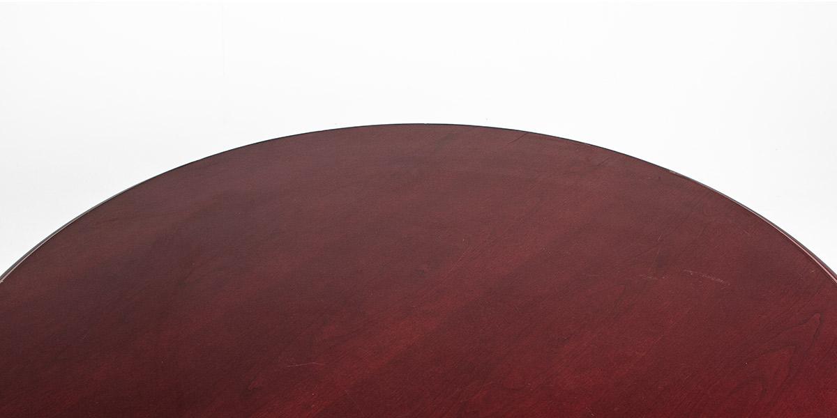 """42""""dia Mahogany Round Pedestal Table TBL002328"""