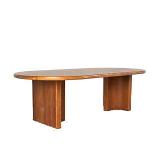 "96""w x 48""d Medium Oak Conference Table TBL002549"