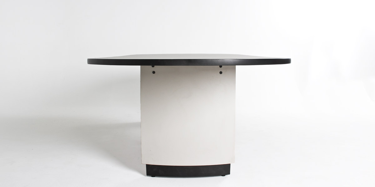 "120""w x 48""d Light Grey Racetrack Conference Table TBL003611"