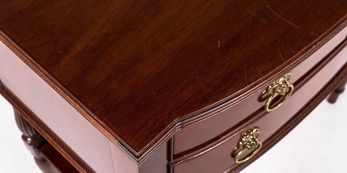 "30""w x 18""d Mahogany Console Table TBL003635"