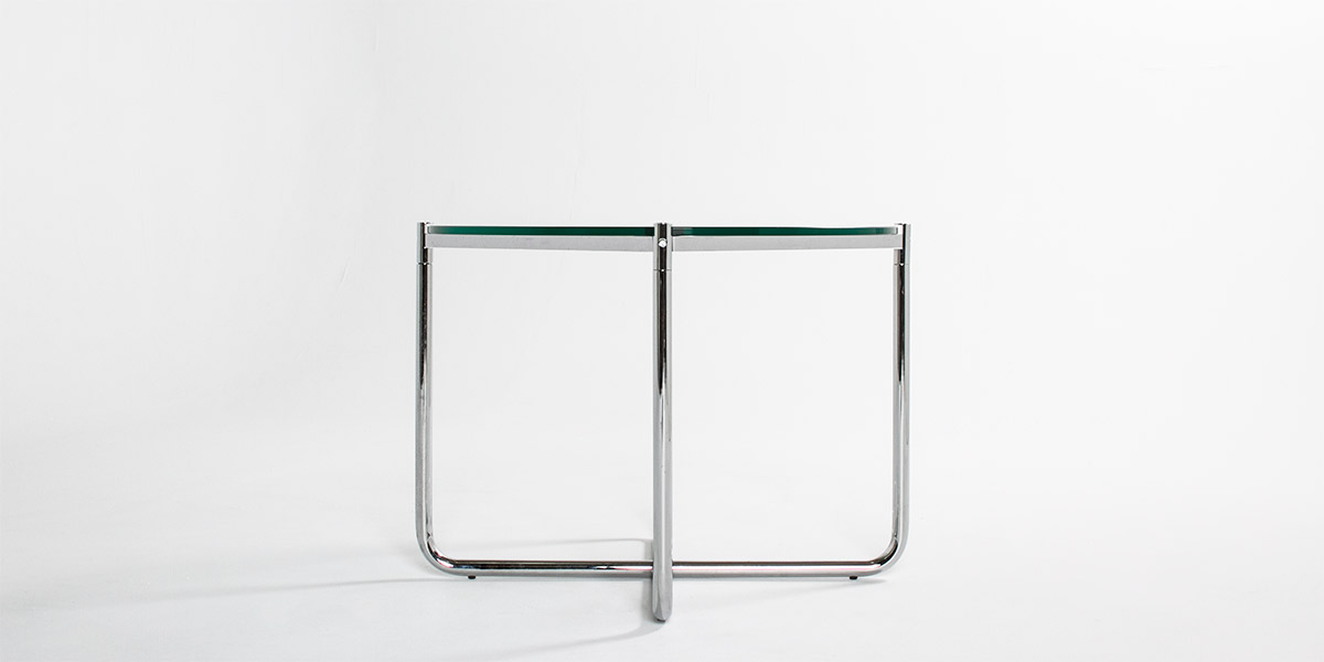 "27"" Side Table Glass Top TBL007295"