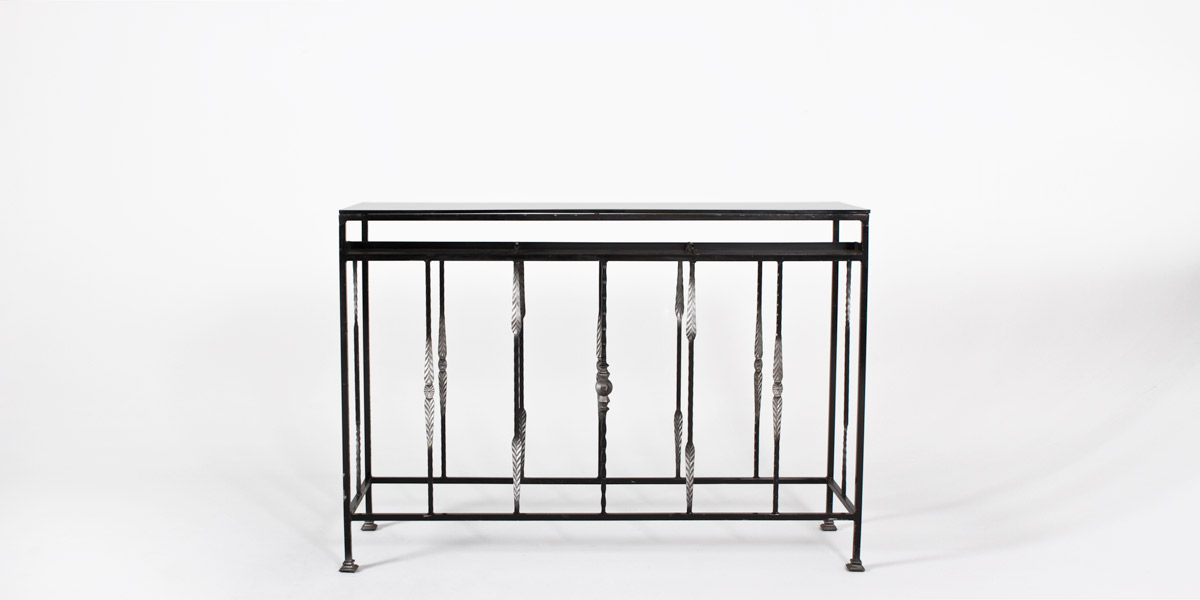 "60""w x 18""d Iron Console Table TBL007498"