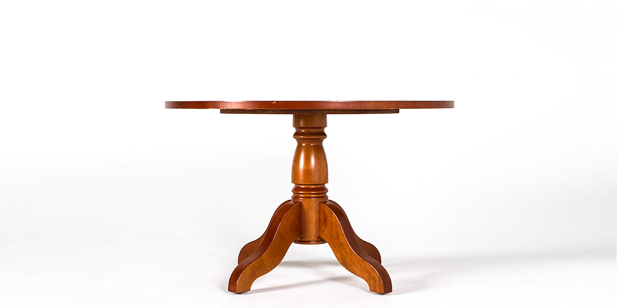"48""dia Honey Cherry Round Table TBL009564"