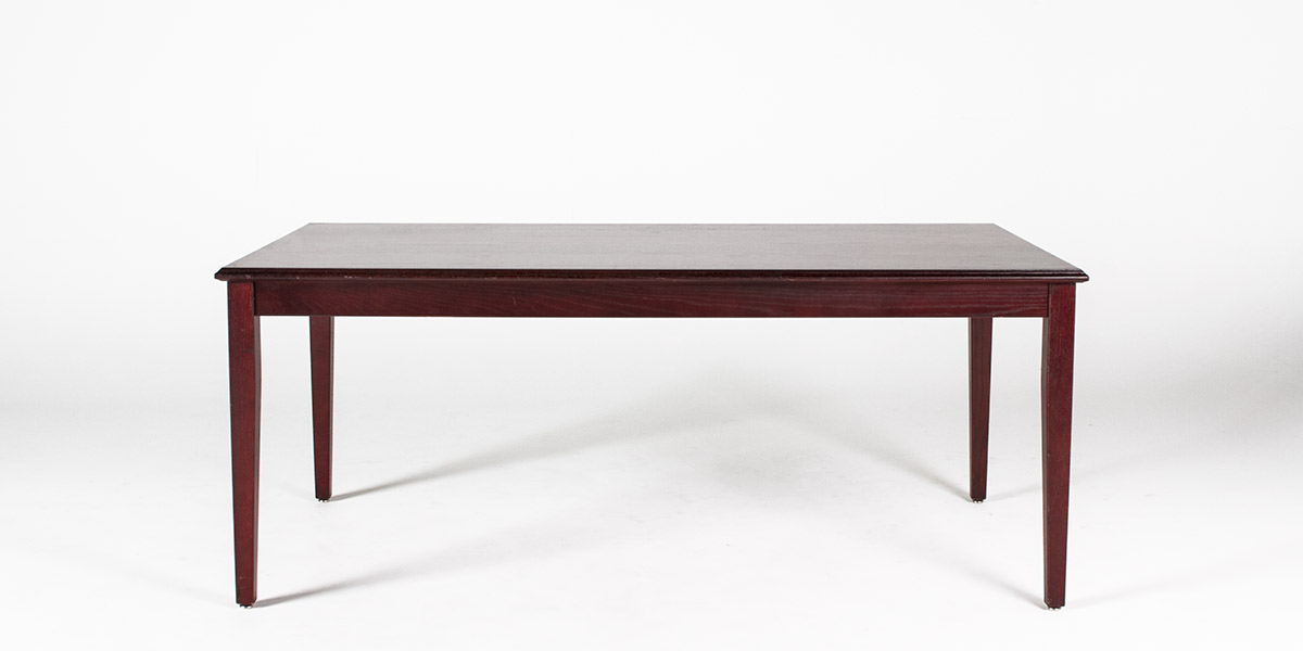 "42""w x 30""d Mahogany Courtroom Table TBL010169"