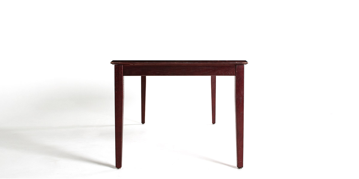 """72""""w x 36""""d Mahogany Courtroom Table TBL010171"""