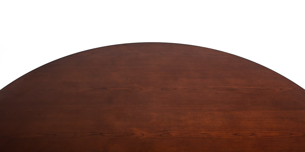 """48""""dia Medium Cherry Round Conference Table TBL011631"""