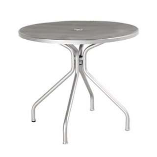 "36""dia Aluminum Round Cafe Table TBR010490"