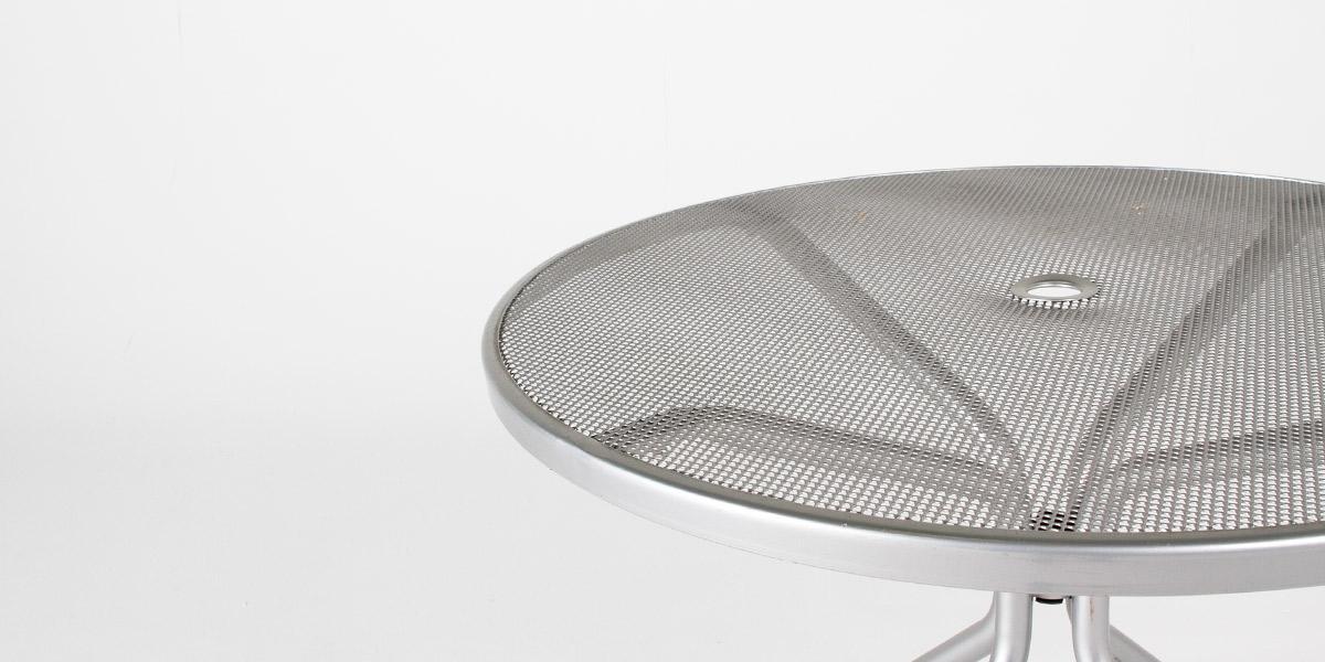 """36""""dia Aluminum Round Cafe Table TBR010490"""