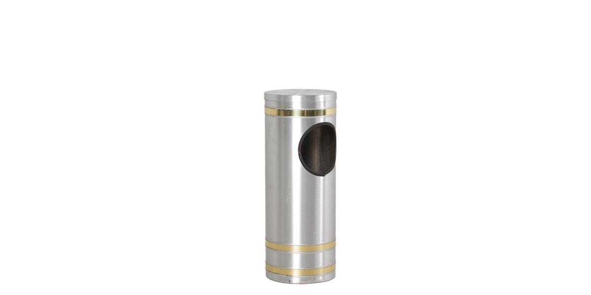 "23.5""h Aluminum Waste Receptacle ACC007337"