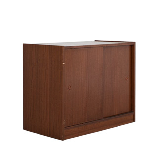 """36""""w x 19""""d Walnut Storage Cabinet CAB009844"""