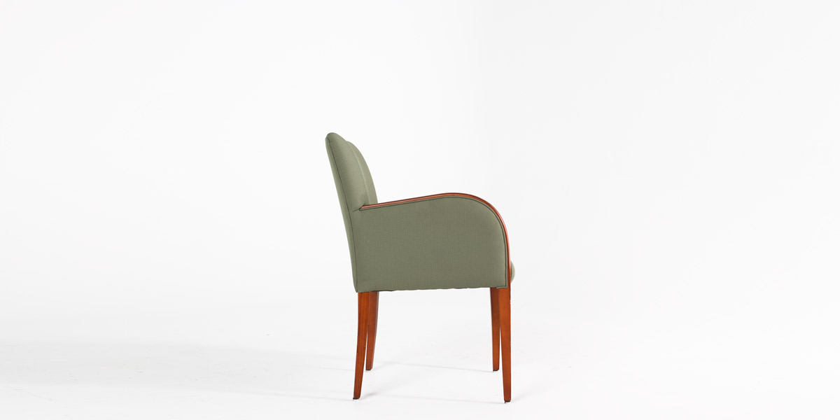Green Fabric Guest Chair CHR009295