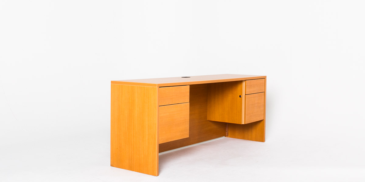 "72""w x 20""d Honey Oak Laminate Credenza CRD009620"