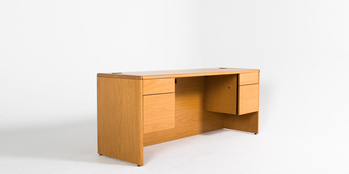 "72""w x 24""d Medium Oak Laminate Credenza CRD012436"
