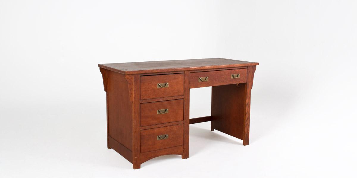 "53.5""w x 24""d Walnut Desk DSK003655"
