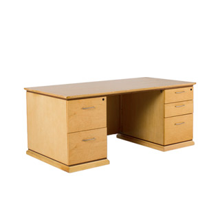 "72""w x 36""d Maple Desk DSK008558"