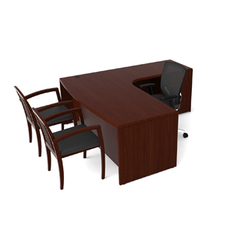 "72""w x 36""d Mahogany Desk DSK012904"