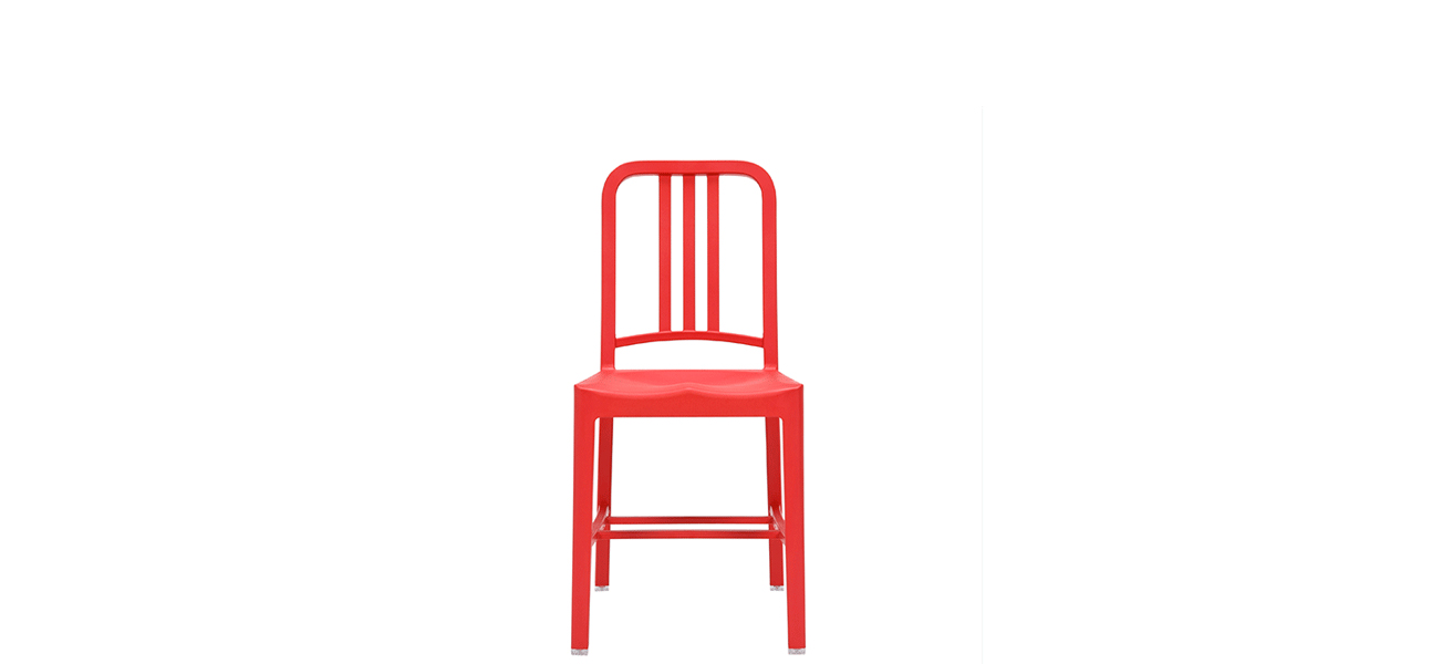 111 Navy Side Chair