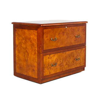 "37""w x 24""d Honey Cherry Lateral File FIL009565"