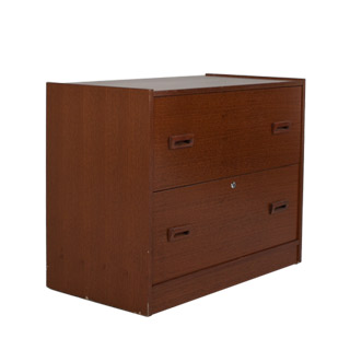 "36""w x 19""d Medium Walnut Lateral File FIL009843"