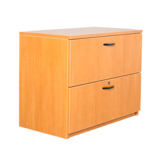 "36""w x 20""d Honey Oak Laminate Lateral File FIL010156"