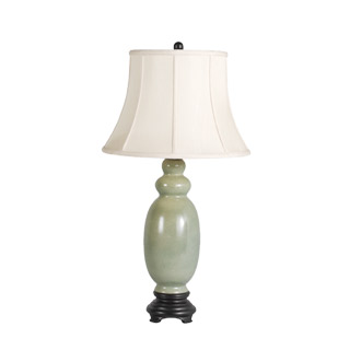 "21.5""h Green Ceramic Table Lamp LGT0011847"