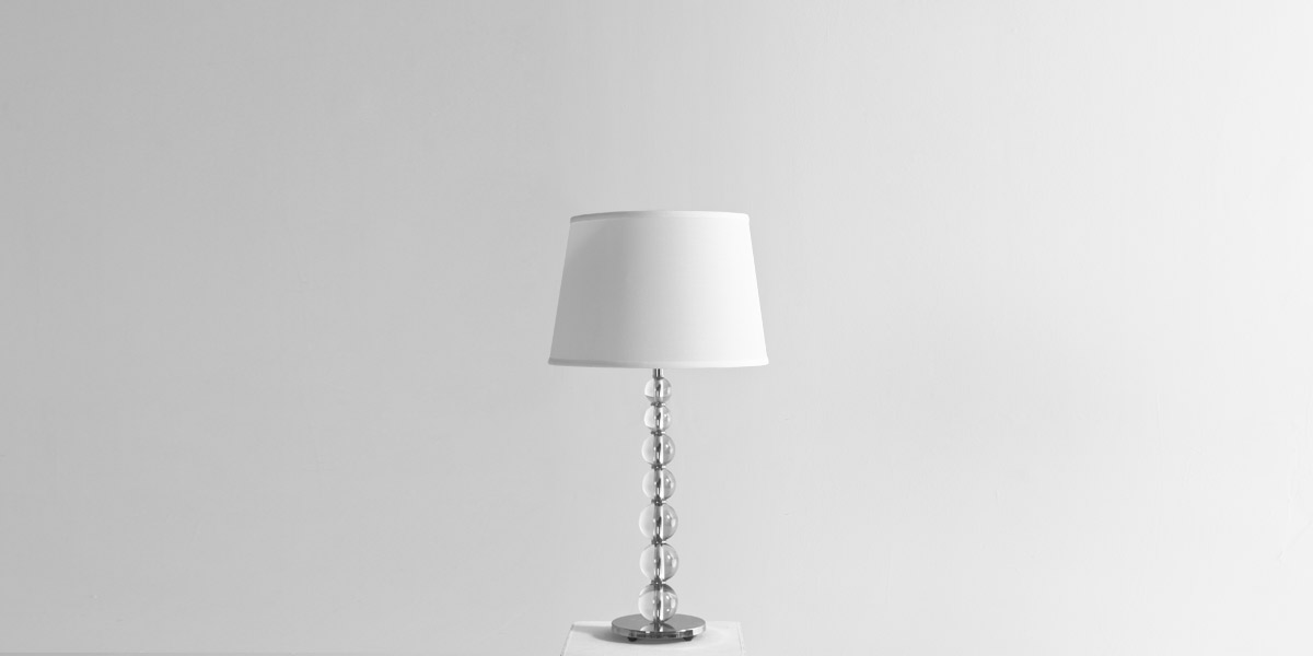 "29""h Crystal Table Lamp LGT013065"