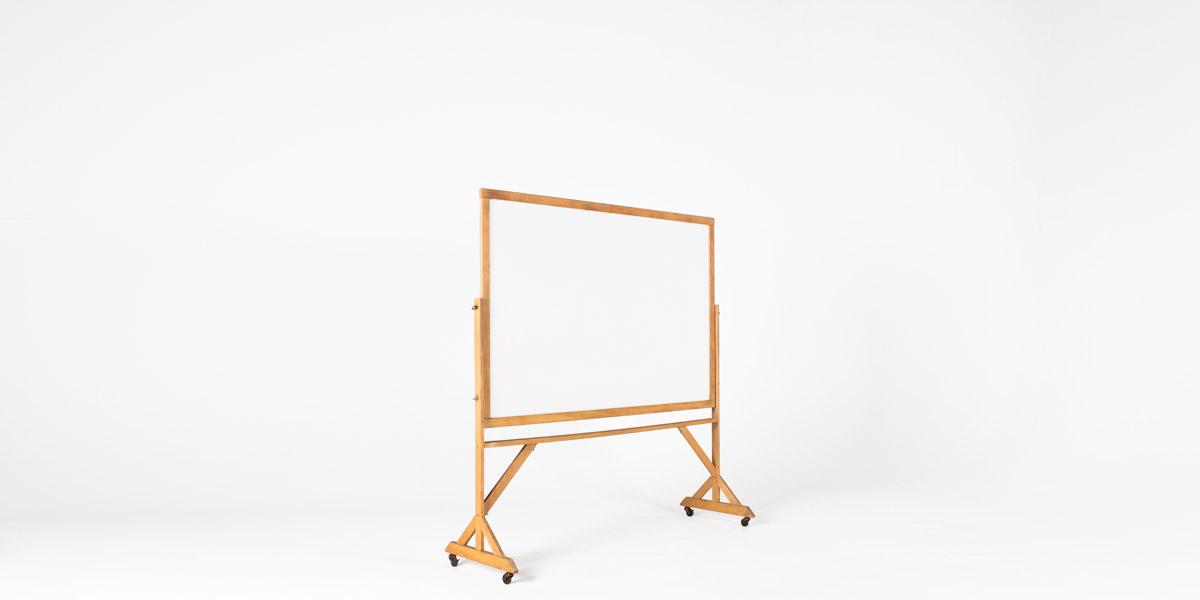 """74""""w x 77.5""""h Wood Dry-Erase Board MIS004036"""