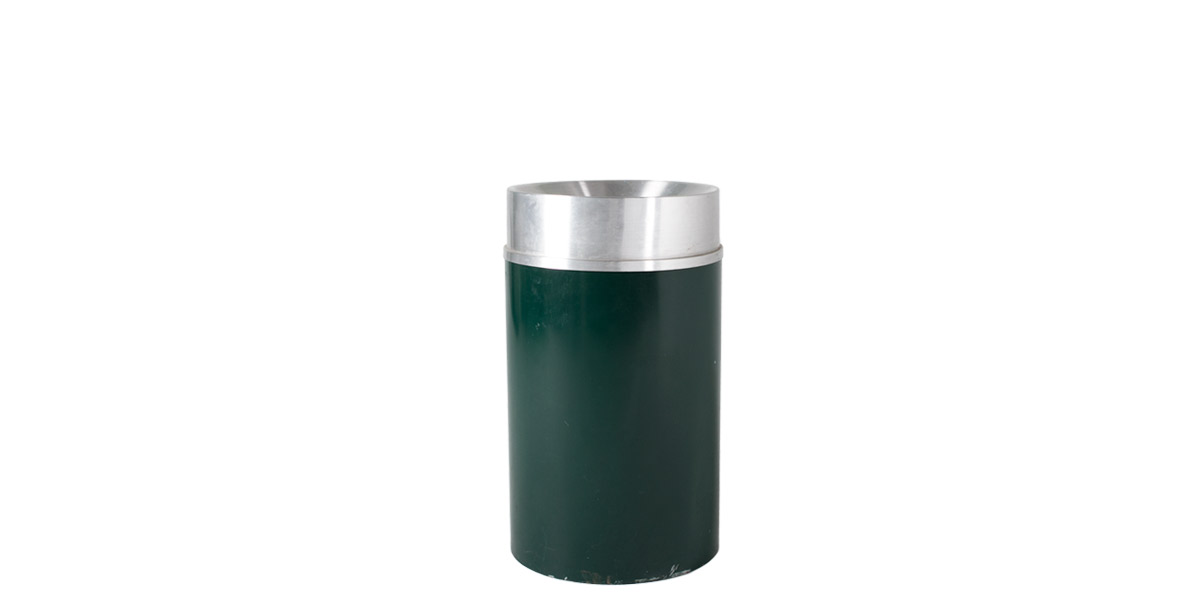 "36""h Green Waste Receptacle MIS009677"