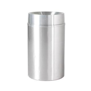 """36""""h Satin Aluminum Waste Receptacle MIS010829"""