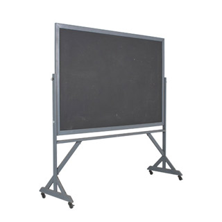 "74""w x 77.5""h Dark Grey Blackboard MIS010887"