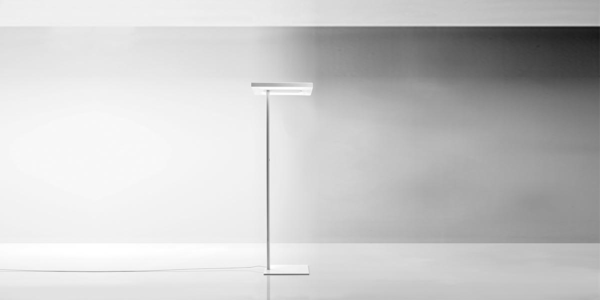 Linea led floor lamp arenson office furnishings for Led floor lamps for office