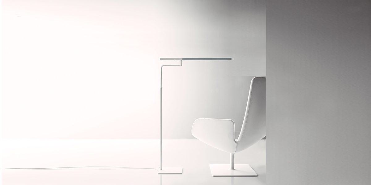 Ministick led floor lamp arenson office furnishings for Led floor lamps for office